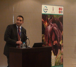 Our Executive Director, Tariq Abutaleb, addressing the Red List assembly